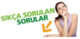 sık sorulan sorular