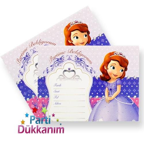 Prenses Sofia davetiye