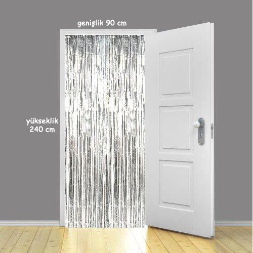 Işıltılı Folyo Kapı ve Duvar Perdesi