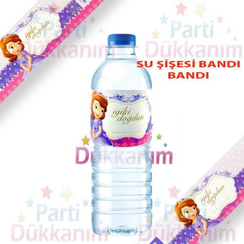 Prenses Sofia su şişesi bandı